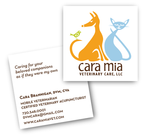 Cara Mia Business Cards