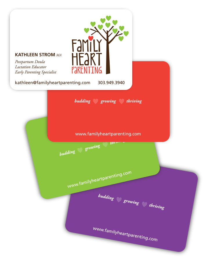 Family Heart Business Card