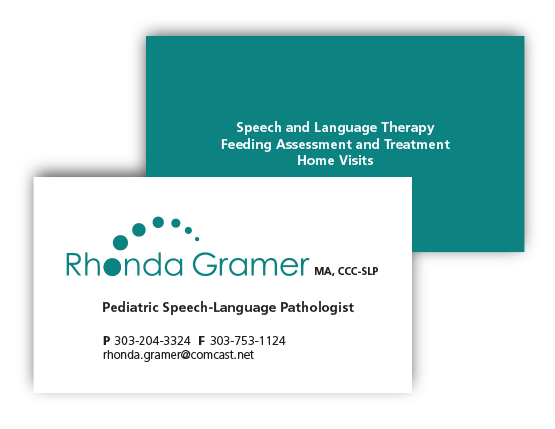 Rhonda Gramer Business Cards