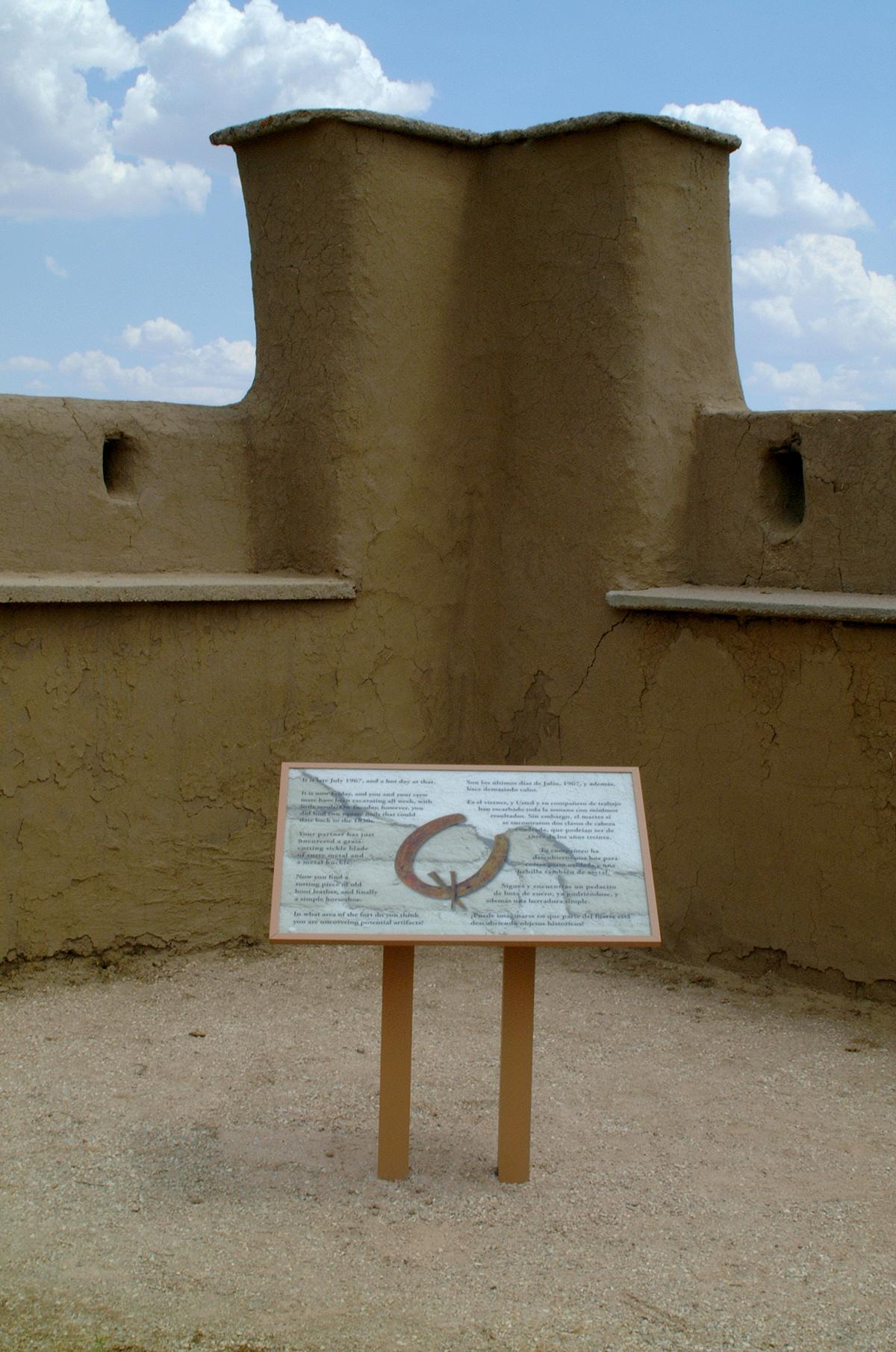 Fort Vasquez Site Signage