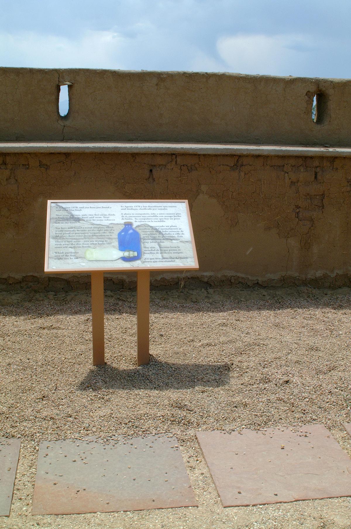 Fort Vasquez Signage